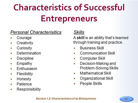 a way out 10 characteristics of highly successful books characteristics of successful entrepreneurs theinvests