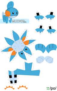 Papercraft Template by Mudkip Papercraft Template By Mudkipz000 On Deviantart