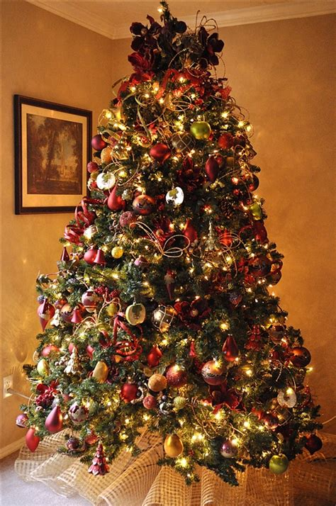 christmas tree decorating ideas ribbon styloss com