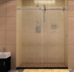 Barn Shower Door 78 7 Quot Chrome Finished Stainless Steel Shower Door Hardware Sliding Hardware For Frameless Shower