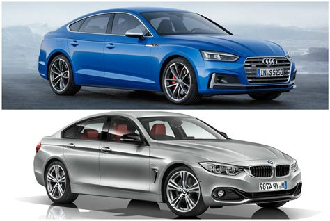 2017 audi a5 sportback vs bmw 4 series gran coupe photo