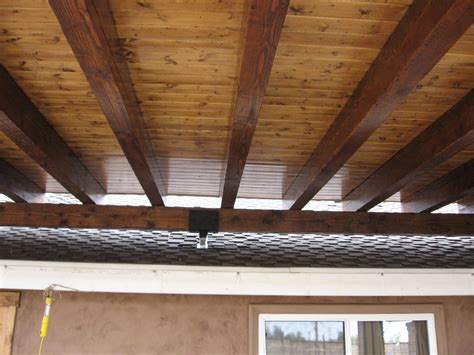 exposed beam ceilings from the ground up