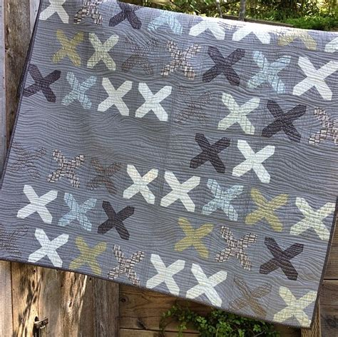 Just Quilting by Just Kisses Modern Quilt Pattern Favequilts
