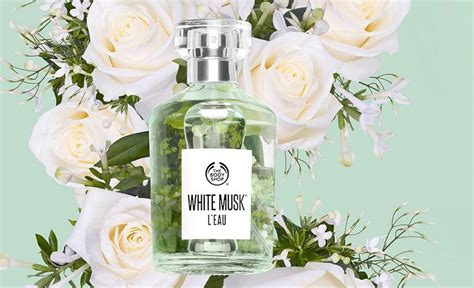 Musk The Shop white musk l eau the shop perfume a new fragrance