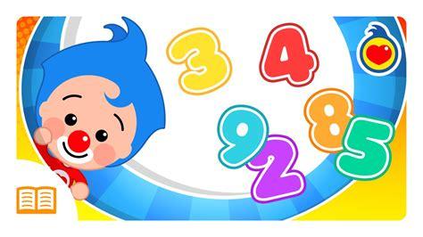 imagenes de matematicas en caricatura los numeros plim plim presenta videos educativos youtube