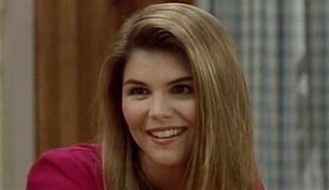 lori loughlin young aunt becky one of the characters of the tv sitcom full