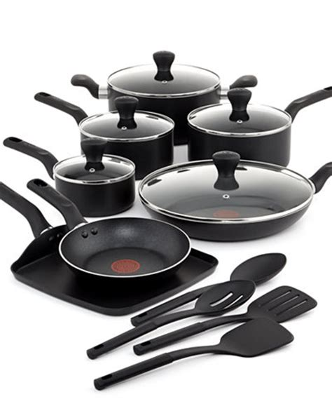 T Fal Culinaire 16 Pc. Cookware Set   Cookware   Kitchen