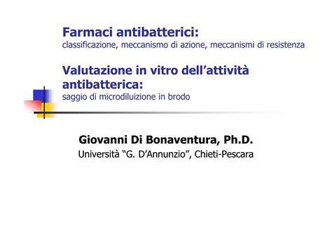 dispense microbiologia antibatterici e antibiotici dispense