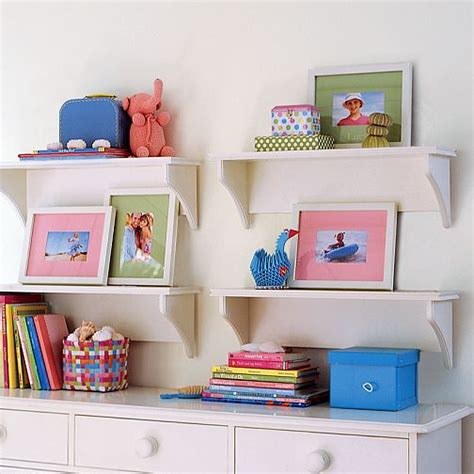 wall shelves nursery decor question