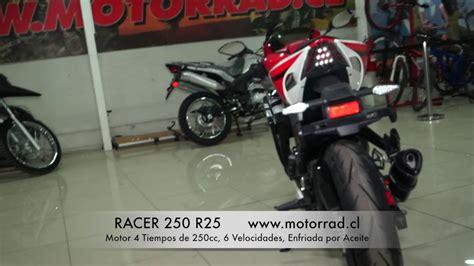 Youtube Videos Motorrad Raser by Racer 250 R25 Youtube