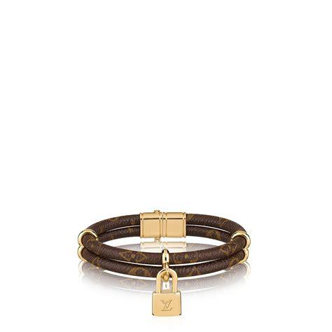 Monogram Cuff Bracelet Bracciale Keep It Twice In Tela Monogram Tela Monogram Accessori Louis Vuitton