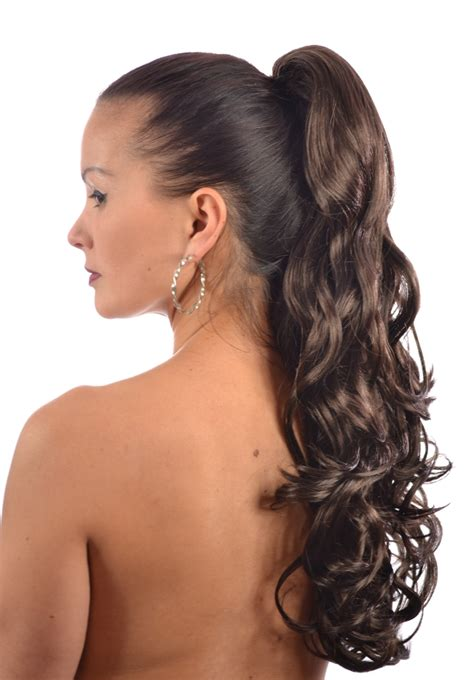 hairstyles for curly hair in a ponytail pony tress curly ponytail hairpiece 18 shades ponies
