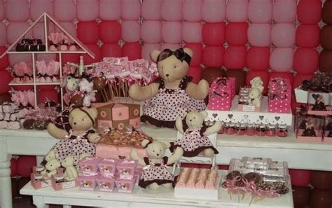 Pink And Brown Decorations by Babyshower On Pink Baby Showers Baby Showers And Brown