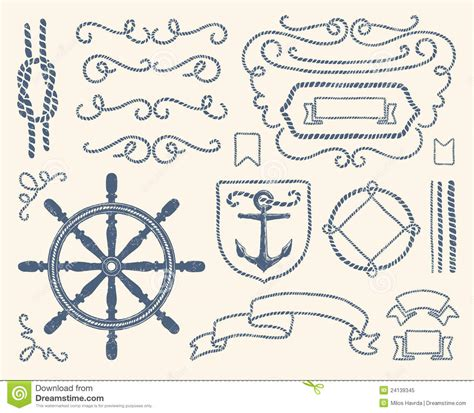 Nautical Wedding Clipart by Nautical Rope Knot Clipart Clipart Suggest