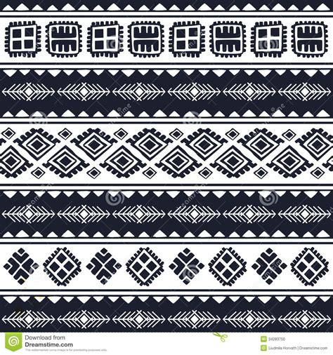 vintage ethnic pattern tribal vintage ethnic pattern seamless stock vector