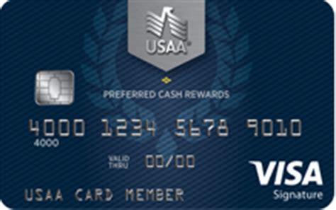 How To Redeem Visa Gift Card For Cash - usaa preferred cash rewards visa signature review earn 1 5 cash back