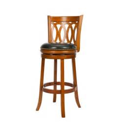 shop safavieh fox brown 29 in bar stool at lowes