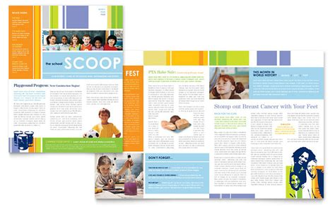 free newsletter layout design newsletter template school newsletter pinterest