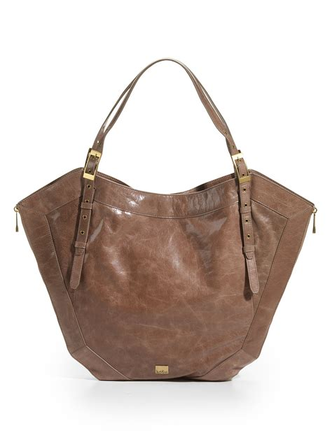Kooba Tote Bag kooba tote bag taupe in brown taupe lyst
