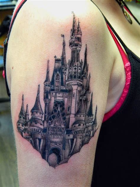 disney castle tattoos designs disney cinderella s castle magic kingdom in