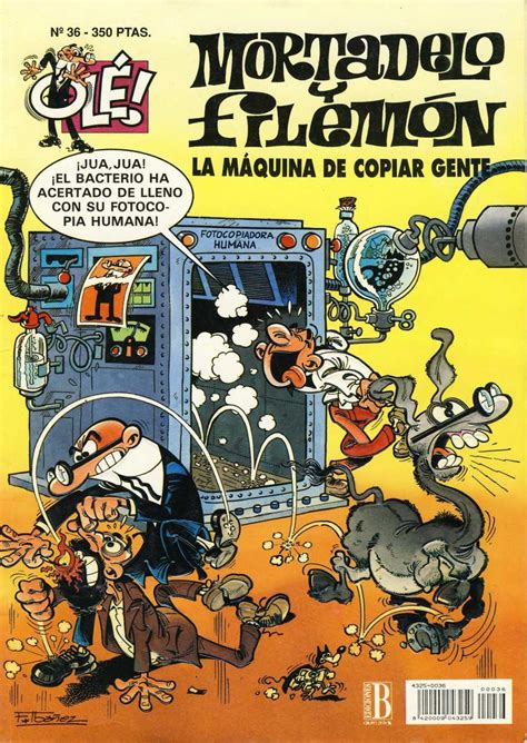 ole mortadelo y filemon 8466647139 coleccion ole de mortadelo y filemon 36 la maquina de copiar gente issue