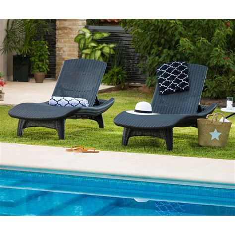 keter chaise lounge keter outdoor chaise lounge set of 2 outdoor chaise