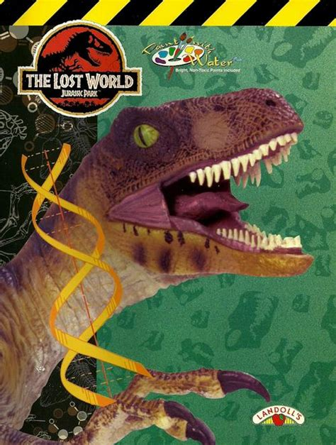 The Lost World A Novel Jurassic Park Ebook E Book activity colouring the lost world jurassic park paint with water book new was listed