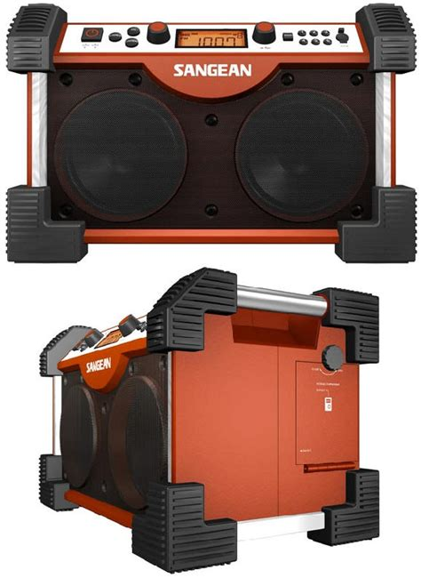 rugged boombox need an rugged boombox meet the sangean fatbox fb 100