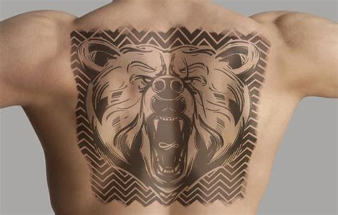 pattern bear tattoo 23 amazing bear tattoo design ideas that are so captivating