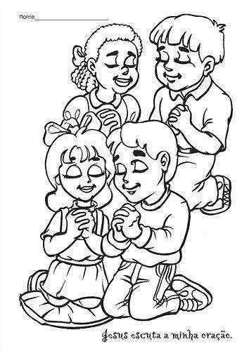 imagenes para orar los ni 209 os y la oracion en laminas para pintar