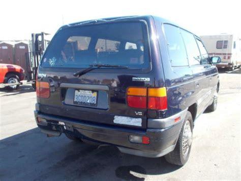 sell used 1994 mazda mpv passenger standard passenger van 3 door 3 0l no reserve in anaheim