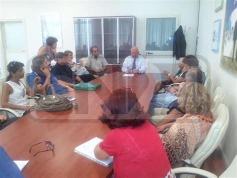 ufficio per l impiego cosenza lavoro stillitani incontra responsabili centri impiego