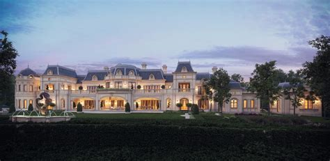 stunning french chateau design from cg rendering homes of the rich