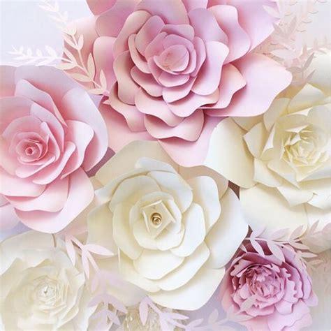 Big Paper Flowers - 17 best images about paper flower decor paper flower