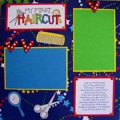 scrapbook layout for first haircut 1000 images about scrapbook ideas on pinterest