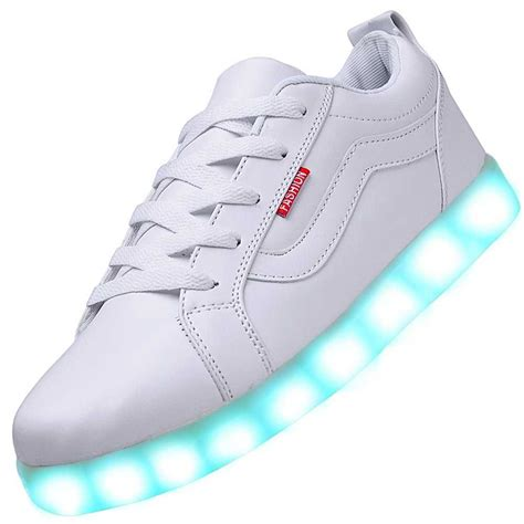 pics of shoes usb charging led shoes white vances sneakers