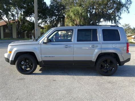 silver jeep patriot with black rims 2014 jeep patriot sport billet silver jeep
