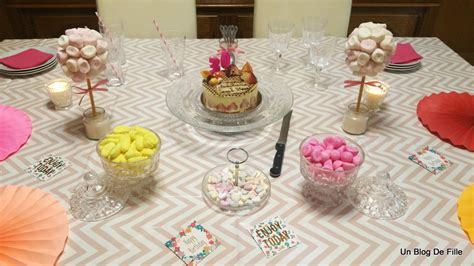 Decoration Table Anniversaire Fille by Decoration Table Anniversaire Fille 1 An