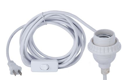 uno socket l base pvc cord with medium uno socket and switch 46902 b p