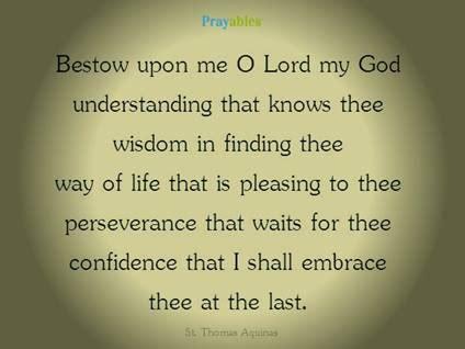 catholic prayers  saints prayables  prayer  st thomas aquinas beliefnet
