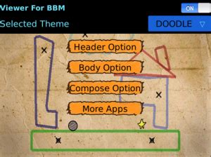 doodle viewer for bbm free smart fancy theme hd for bbm viewer and