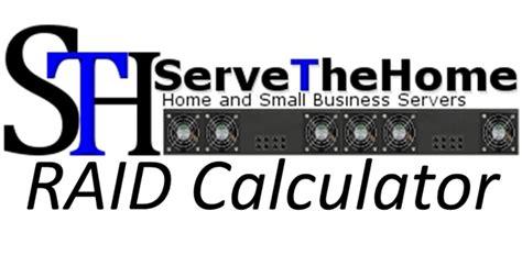 calculator raid raid reliability calculator update sth mttdl model