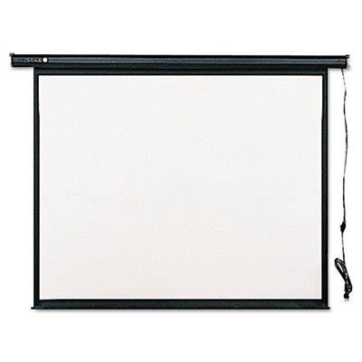 Screen Projector World Screen Motorized 70 quartet electric projection screen 70 x 70 inches black frame 770s theofficepanda office