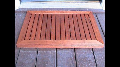 Wood Doormat by Make A Wood Doormat