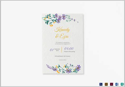 Wedding Announcement Template by 14 Psd Wedding Announcement Templates Editable Psd Ai
