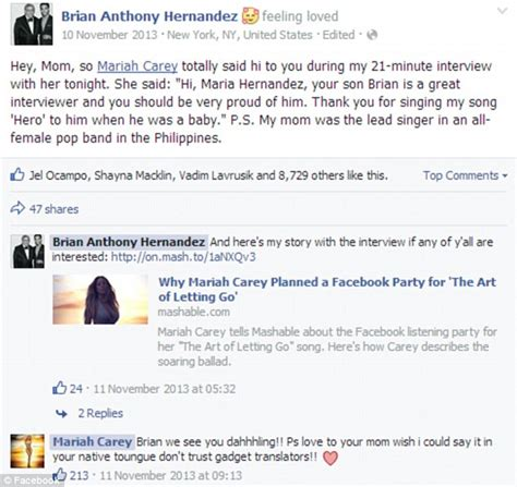 uk celebrities on facebook facebook mentions app allows celebrities to respond to