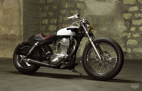 A Frame House Kit by Husz Suzuki Savage Bobber Return Of The Cafe Racers
