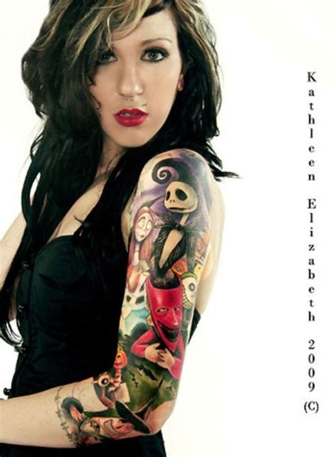 tim burton sleeve tattoo love love love this