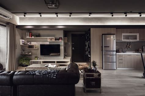 House Design Studio Taiwan идеи для мужского интерьера квартира от студии House