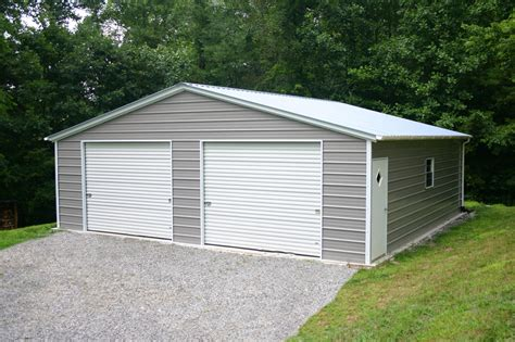 Garage Prebuilt by Prefab Carports Prefab Garages